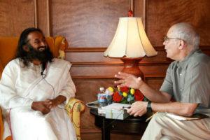 Sri Sri Ravi Shankar and Philip Goldberg